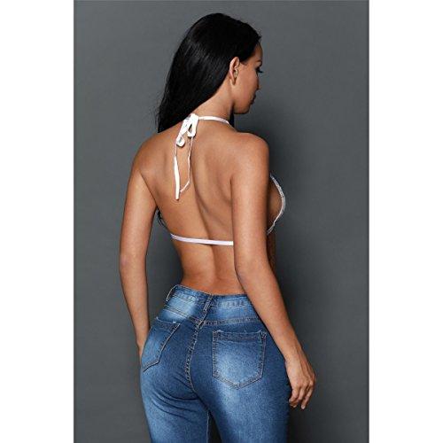 Mela Proibita - Camiseta sin mangas - para mujer Bianco