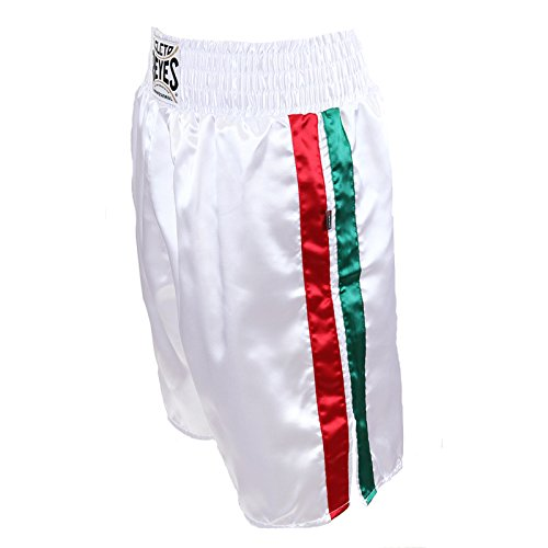 Cleto Reyes Satin Boxing Trunks, Mexico, Small