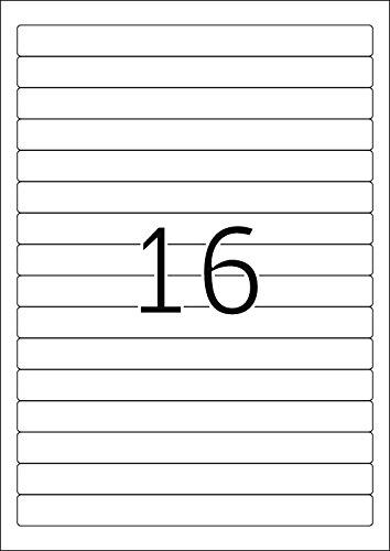 192 x 16,9 mm HERMA Ordnerr/ücken-Etiketten SPECIAL wei/ß