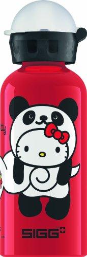 (Sigg Hello Kitty Panda Water Bottle, Red, 0.4-Liter)