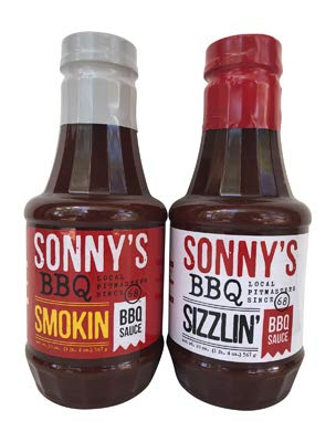 Sonny's BBQ Sauce Spicy Bundle Smokin' and Sizzlin' (20 oz each)