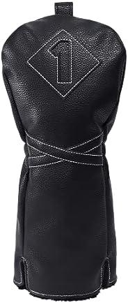 Izzo Premium Driver Headcover, Black