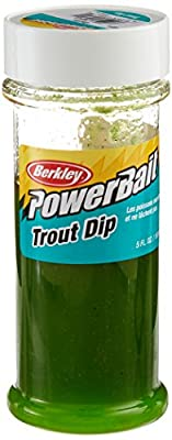Berkley TDIP-GRLC PowerBait Trout Dip, Garlic Mint, 5-Ounce