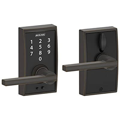 Schlage Camelot Touch Lock with Flair Lever