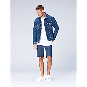 Amazon Brand – find. Men's Printed Slim Fit Cotton Shorts