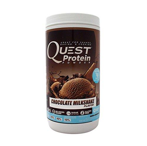 Quest Nutrition Protein Powder Milkshake Chocolate, 907 gr