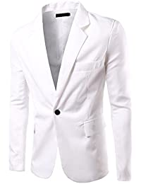 Amazon.com: Whites - Sport Coats & Blazers / Suits & Sport Coats ...
