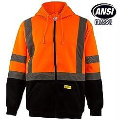 New York Hi-Viz Workwear H9011 Men's ANS...