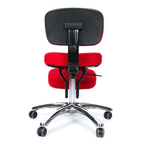 BetterPosture Jazzy Kneeling Chair – Multifunctional Ergonomic Posture Kneeling Chair Helps Reduce Back and Neck Strain