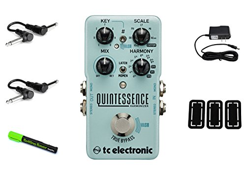 TC Electronic Quintessence Harmonizer PRYMAXE PEDAL BUNDLE by TC Electronic