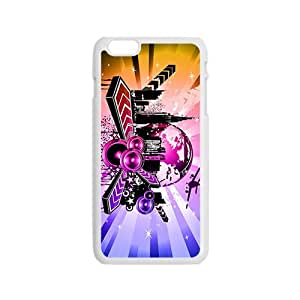 Creative Colorful Pattern Fahionable And Popular Back Case Cover For Iphone 6