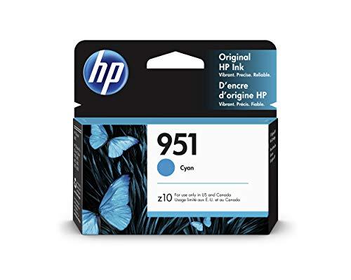 HP 951   Ink Cartridge   Cyan   CN050AN (Hp Officejet Pro 8600 Ink Cartridge Installation)