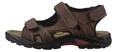 Athletic Outdoor Shoes Mens Sandals Leather iLoveSIA and Brown tUxRwqPTP