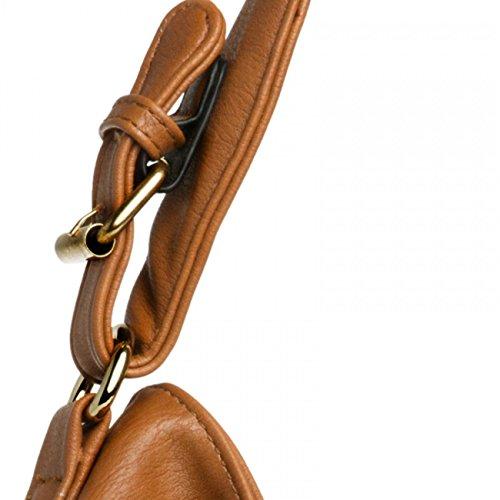 Sac messager à main TS940 Couleur CASPAR pour femme cognac xHTw1xqF