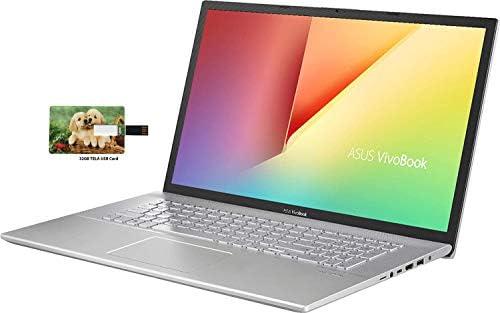 ASUS VivoBook 17 17.3″ HD+ Business Laptop AMD Quad-Core Ryzen 7-3700U up to 4.0GHz (Beats i7-8565U), 12GB DDR4 RAM, 512GB PCIe SSD, AC WiFi Type-C Remote Work Windows 10 Pro w/32GB TELA USB Card