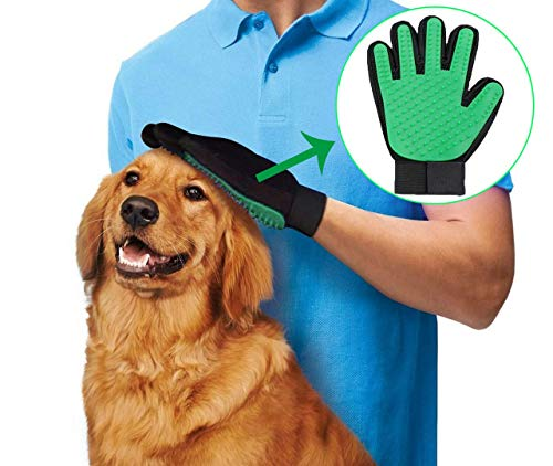 ZooYwx Dog Grooming Brush,Pet Hair Remover Camb at Home,Cat Hair Cleaning Glove