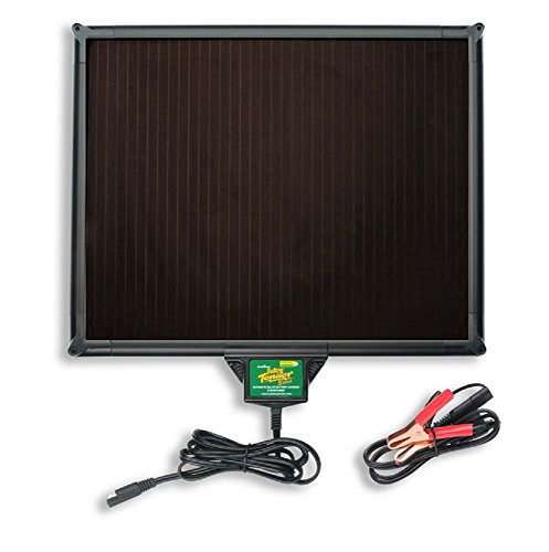 Battery Tender 021-1163 5W Solar Maintainer with Built-in Super Smart Charging Controller (Best Solar Battery Maintainer)