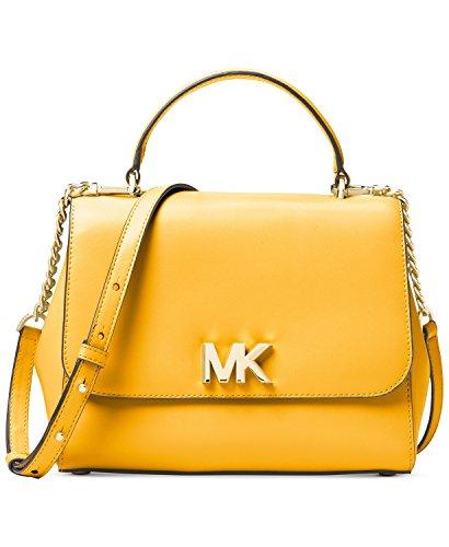 Michael Kors Yellow Handbag - 5