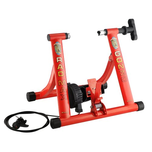 RAD Cycle Products MAX Gonzo Bike Trainer With 7 Levels of Resistance by RAD Cycle Products