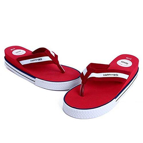 Womens Slipper Thong Zomer Slipper Flip-flop Schoenen Rood