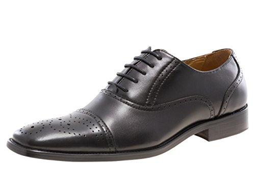 Jump Newyork Mens Lawrence Oxford Shoe Black
