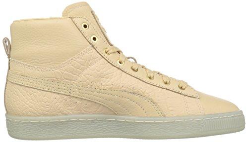 Puma Womens Basket Mid Ali Wns Fashion Sneaker Natural Vachetta-puma Team Gold