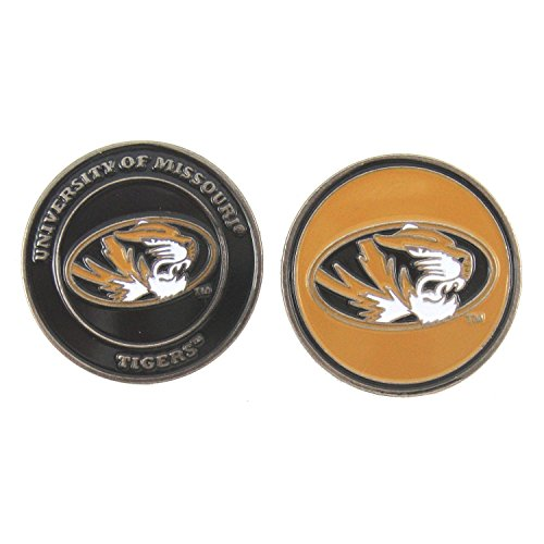 Missouri Tigers Double-Sided Golf Ball Marker