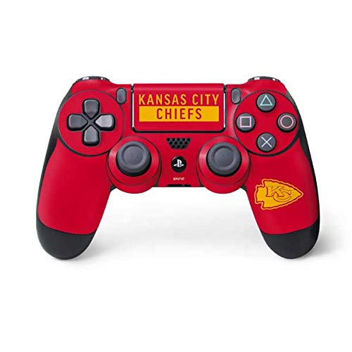 - Skinit Kansas City Chiefs Red Performance Series PS4 Controller Skin - Officially Licensed NFL Gaming Decal - Ultra Thin, Lightweight Vinyl Decal Protection