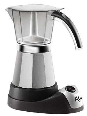 Delonghi EMK6 Alicia Electric Moka Espresso Coffee Maker (Certified Refurbished)
