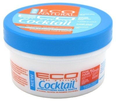 Eco Style Curl & Style Cocktail Strengthens Hair & Roots, 8 Ounce