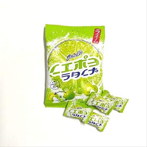 Lime Salt Candy with Vitamin C Powder 3 Packs