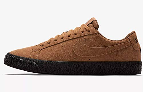 NIKE SB Zoom Blazer Low Mens Fashion-Sneakers 864347-200_13 - LT British TAN/LT British TAN-Black ()