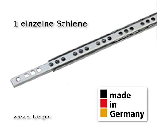 1 Schubladenschiene Schubkasten Teilauszug Rollenauszug Teleskopschiene Kugelfü hrung L 310 mm Nut 17x10mm - LIVINDO livindo.de