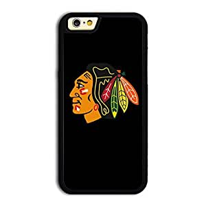 NHL Chicago Blackhawks team logo #1 matt feel hard plastic TPU iPhone 6 case protective skin cover