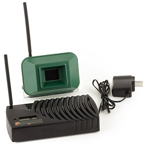 Driveway Informer Wireless Driveway Alarm-USA Made Driveway Alarm Long Range 1000' Transmitter & Receiver Included In Kit-Driveway Alarm Sensor Detects Vehicles & People-Ideal for Home & Business by Driveway Informer