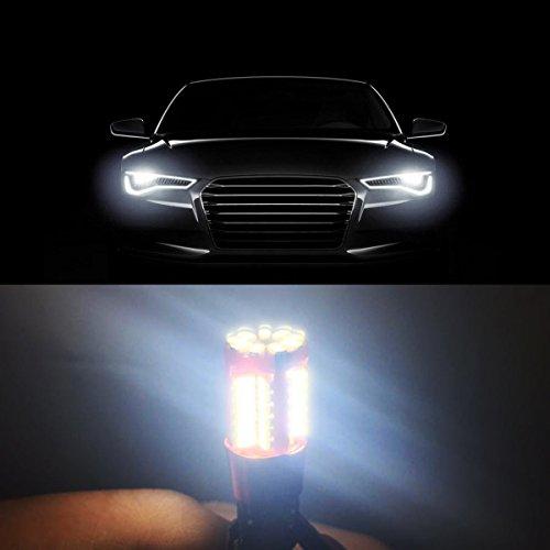 mhtech lot de 2 ampoules led t10 w5w canbus odb sans erreurs 57 smd 4014 lampes