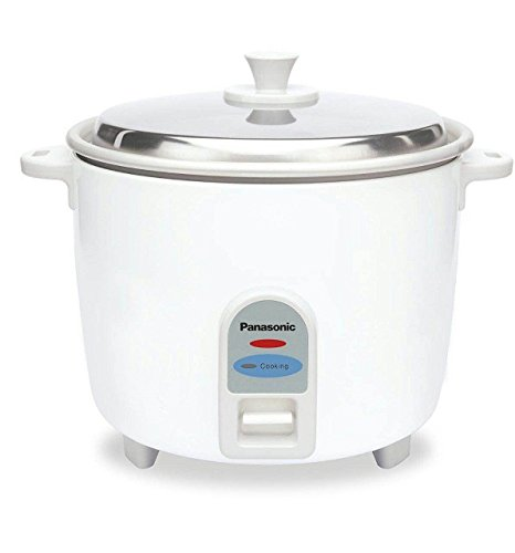 Panasonic SR-WA 22-J 750-Watt Rice Cooker (White) Rice & Pasta Cookers at amazon