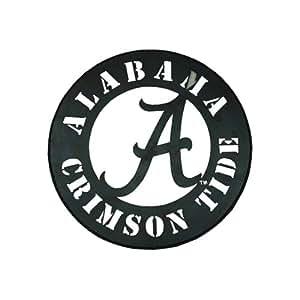 Amazon.com : NCAA Alabama Crimson Tide Circle Metal Wall