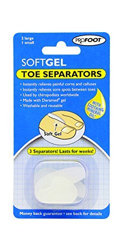 Profoot Soft Gel Toe Separators by Profoot