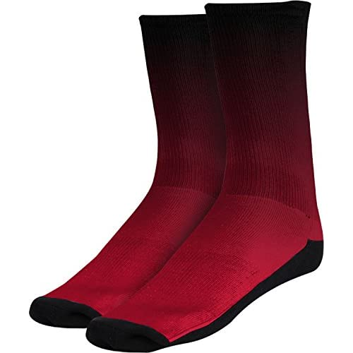 Mens San Diego State University Fade Sublimated Socks Apparel