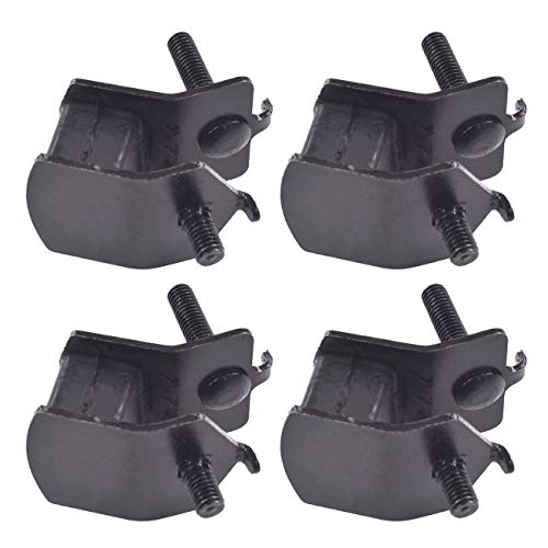 JRL 4Pcs Small Size Anti Vibration Generator Rubber Motor Mounts Fits Honda and More Lawn Mower EB2200 / EG1400 / EG2200 / EB5000 / EB6500
