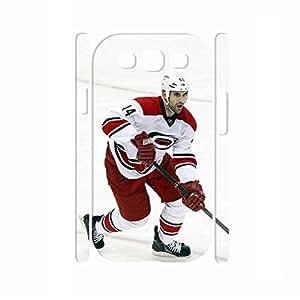 Advanced Hipster Hockey Athlete Pattern Skin for Samsung Galaxy S3 I9300 Case