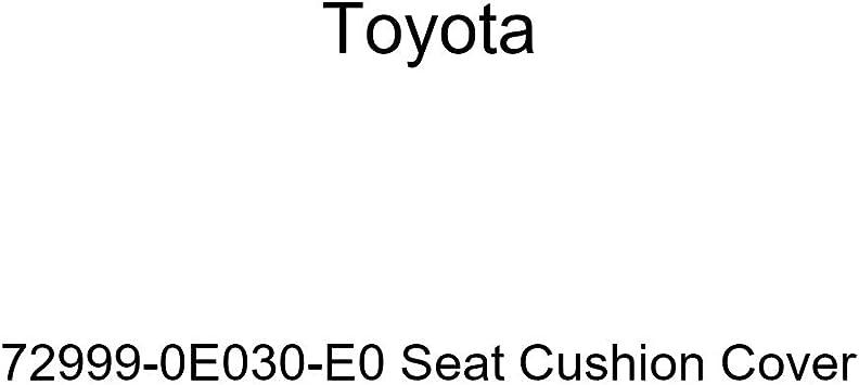 TOYOTA Genuine 72999-0E030-C0 Seat Cushion Cover