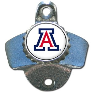 Arizona Wildcats Mountable Steel Bottle Opener by Siskiyou (Image #1)