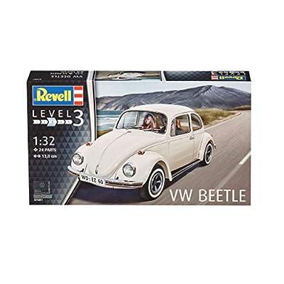 Revell Germany 07681 Vw Kafer 32 Car Model Kit: Toys & Games