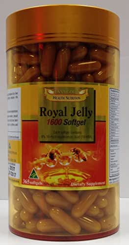Golden Health Australia 100% Royal Jelly 1600 mg - 365 capsules