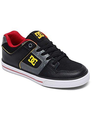 DC Shoes Pure Elastic Se - Zapatillas Para Chicos ADBS300273 Grey/black/red