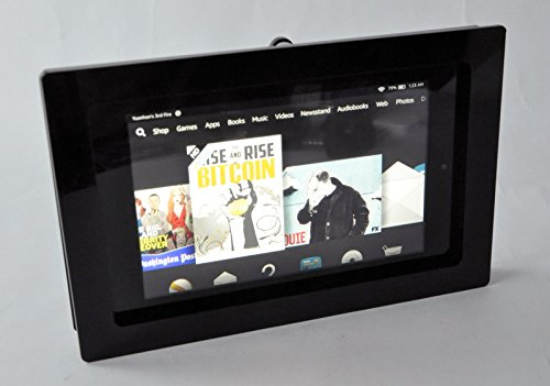 - TABcare Compatible Fire HD 6 Black Acrylic VESA Security Enclosure with Wall Mount Kit
