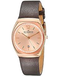 Skagen Womens SKW2259 Analog Display Analog Quartz Grey Watch