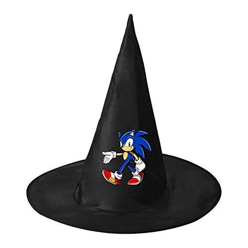 RRUH Halloween Black Witch Hat-2017 Sonic The (Shadow From Sonic The Hedgehog Costume)